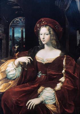 Insane Painting - Juana La Loca (1479-1555) by Granger
