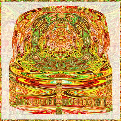 Sanskrit Mixed Media - Judgement Seat Of Samrat King Vikramaditya The Legend Of Vikramaditya  The Legendary Vikramaditya Is by Navin Joshi