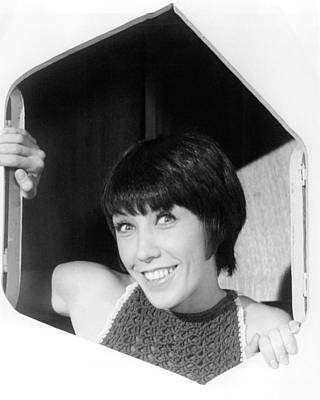 Laugh Photograph - Judy Carne In Rowan & Martin's Laugh-in  by Silver Screen