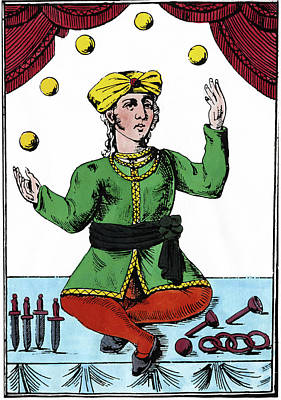 Juggler Painting - Juggler, 18th Century by Granger
