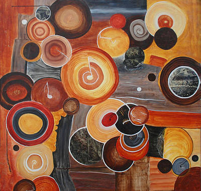 Jukebox Painting - Jukebox Saturday Night by Del Marinello
