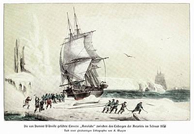 Cesar Painting - Jules Dumont D'urville (1790-1842) by Granger