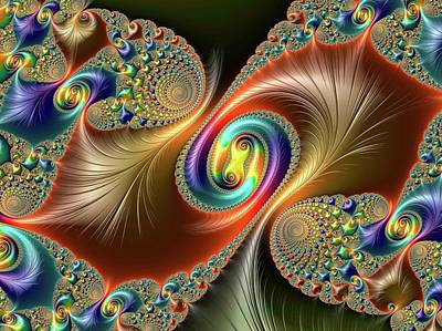 Fractal Geometry Photograph - Julia-set Fractal by Alfred Pasieka
