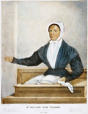 Methodists Painting - Juliann Jane Tillman, 1844 by Granger