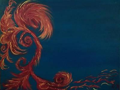Painting - Jumbie Under De' Ocean by Robert Nickologianis