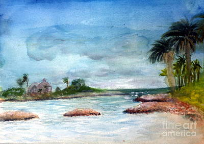 Remodernist Painting - Jupiter Inlet by Donna Walsh