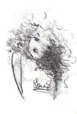Drawing - Just Me by Laurie L