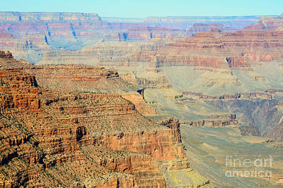Arizona Photograph - Kaibab Trail View Grand Canyon National Park by Shawn O'Brien