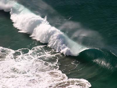 Photograph - Kalalau Trail Napali Coast Winter Wave by Robert Lozen