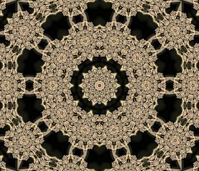 Crocodile Digital Art - Kaleidoscope 22 by Ron Bissett