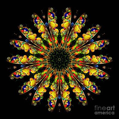 Kaleidoscope Photograph - Kaleidoscope Of Blown Glass by Amy Cicconi
