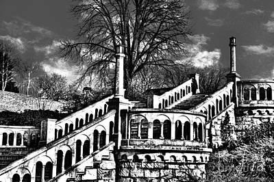 Yugoslavian Photograph - Kalemegdan Fortress Stairs by Milan Karadzic