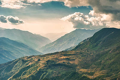 Photograph - Kalinchok Kathmandu Valley Nepal by U Schade