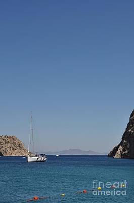 Audrey Hepburn - Kalymnos island by Luis Alvarenga