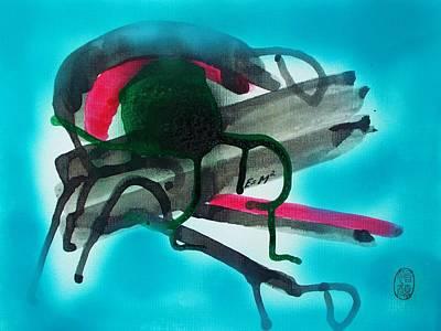 Painting - Kankyo Saigai by Roberto Prusso