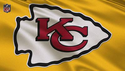Kansas City Photograph - Kansas City Chiefs Uniform by Joe Hamilton