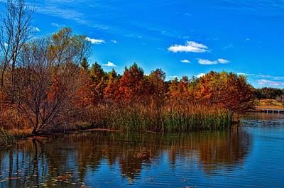 Photograph - Kansas Fall Foliage by Tim McCullough
