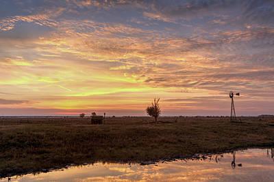 Photograph - Kansas Sunset by Rob Graham