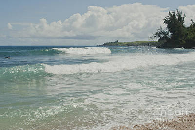 Photograph - Kapalua Surf Honokahua Maui Hawaii by Sharon Mau