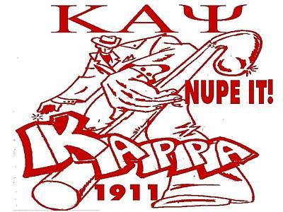 Kappa Alpha Psi Digital Art - Kappa by Tony Curtis