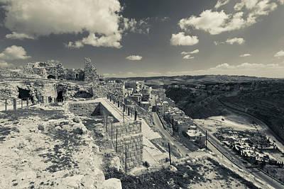 Jordan Photograph - Karak Crusader Castle, Karak, Kings by Panoramic Images