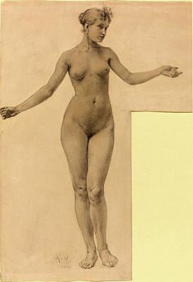 Czech Drawing - Karel Vitezslav Masek Czech, 1865 - 1927 by Quint Lox