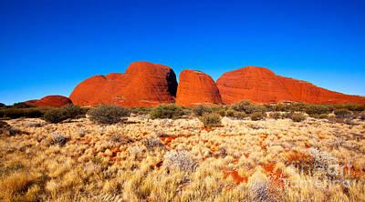 Kata Photograph - Central Australia by Bill  Robinson