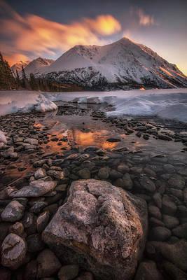 Photograph - Kathleen Lake, Yukon, Canada by Jonathan Tucker