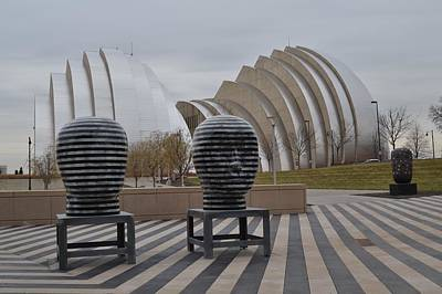 Kansas City Photograph - Kauffman Center Of The Performing Arts by Shelley Wood
