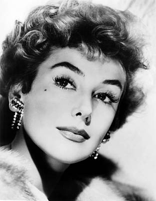 Beauty Mark Photograph - Kay Kendall, Ca. Mid-1950s by Everett