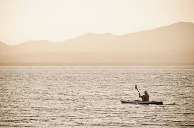 Photograph - Kayaking Lake Almanor by Sherri Meyer