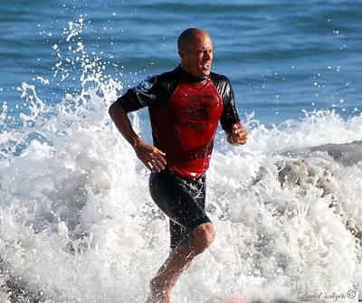 Kelly Slater Photograph - Kelly Slater World Surfing Champion Copy by Davids Digits