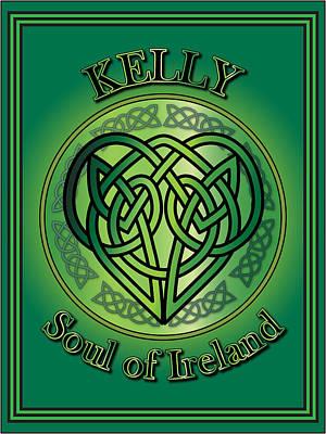 Kelly Soul Of Ireland Print by Ireland Calling