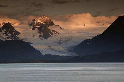 Alaska Photograph - Kenai Mountains And Kachemak Bay by Michel Hersen