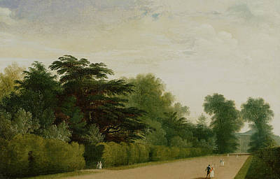 Royal Painting - Kensington Gardens by John Martin