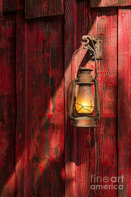 Old House Photograph - Kerosene Lantern by Carlos Caetano