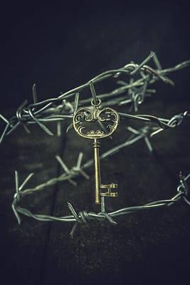 Key Of A Treasure Chest Art Print by Joana Kruse