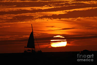 Photograph - Key West Sunset by Steven Spak