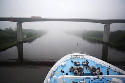 Kiel Canal Art Print
