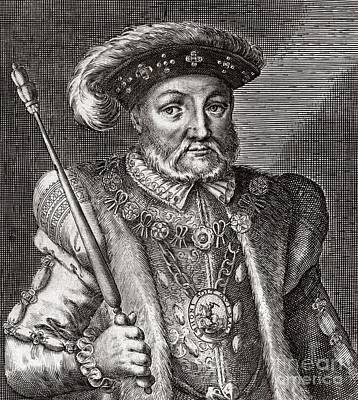 King Henry Viii Of England Art Print