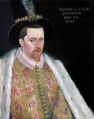 King James I Of England Art Print