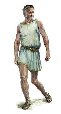King Philip II Of Macedon Art Print