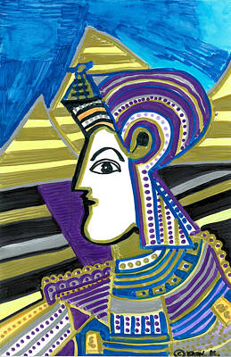 Tut Mixed Media - King Tut by Don Koester