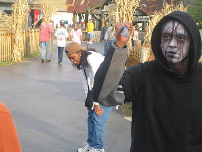 Halloween Photograph - Kings Dominion - Halloween - 12122 by DC Photographer