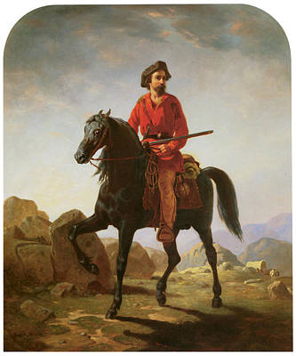 Kit Painting - Kit Carson by William Tylee Ranney