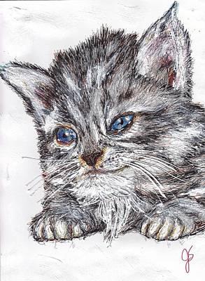 Kitten Original by Joyce Sherwin