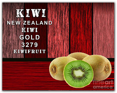Kiwi Mixed Media - Kiwi Farm by Marvin Blaine