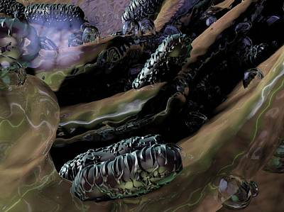 Klebsiella Oxytoca Bacteria Art Print