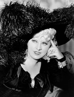 Cocktail Ring Photograph - Klondike Annie, Mae West, 1936 by Everett