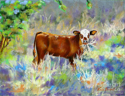 Painting - Knee High In Happiness by Vicki Brevell